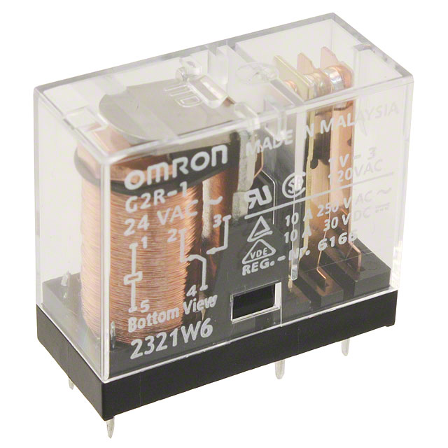 G2r 1 Ac24 Omron Datasheet And Cad Model Download Octopart