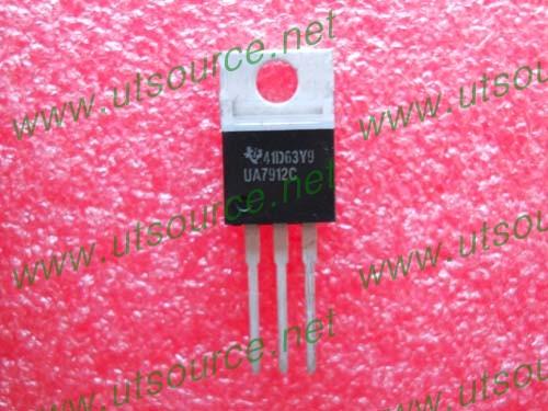 Ua7912c datasheet negative voltage regulators from texas instruments.