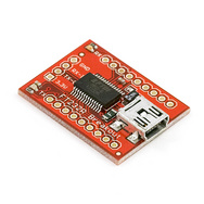 Shop.  Breakout Board for FT232RL USB to Serial.  The Fundi Store.