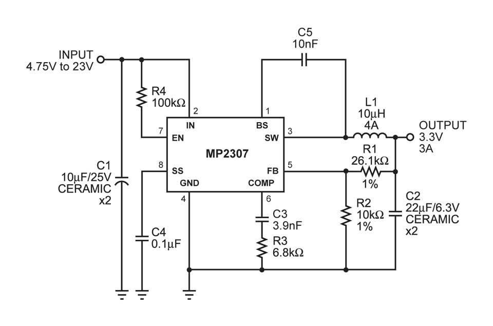 mp2307 - monolithic power systems
