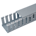 """Wiring Duct W=1.26"""" H=3.12"""" Pvc Light Gray Wide FINGERUL94V-0 Sold in 6' Lengths Priced Per"""
