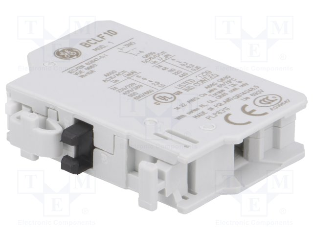GE Auxiliary Contact BCLF10