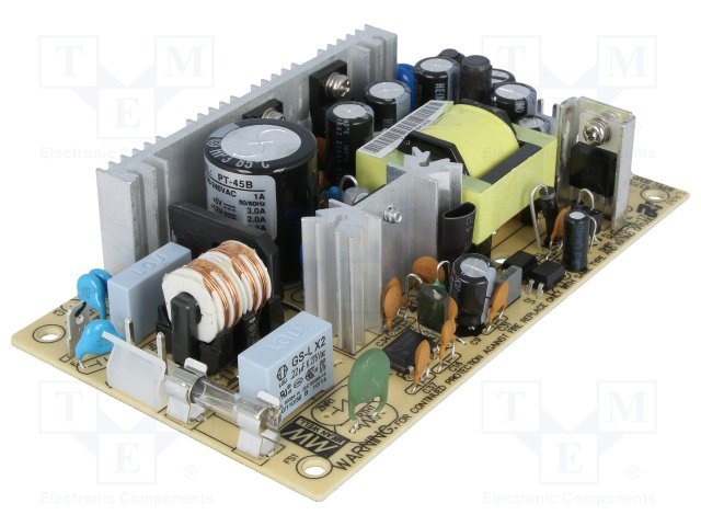 Mean Well MPT-45B AC to DC Power Supply