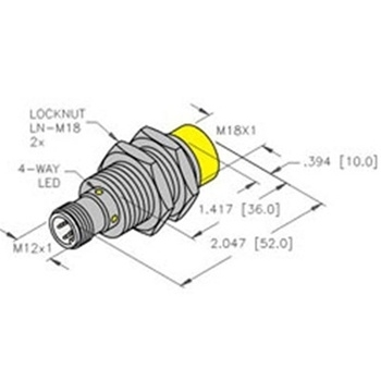 NI12U-EM18-AP6X-H1141 TURCK - Sensors - Distributors, Price Comparison, and  Datasheets   Octopart component search   Turck Sensor Wiring Diagram Pnp      Octopart