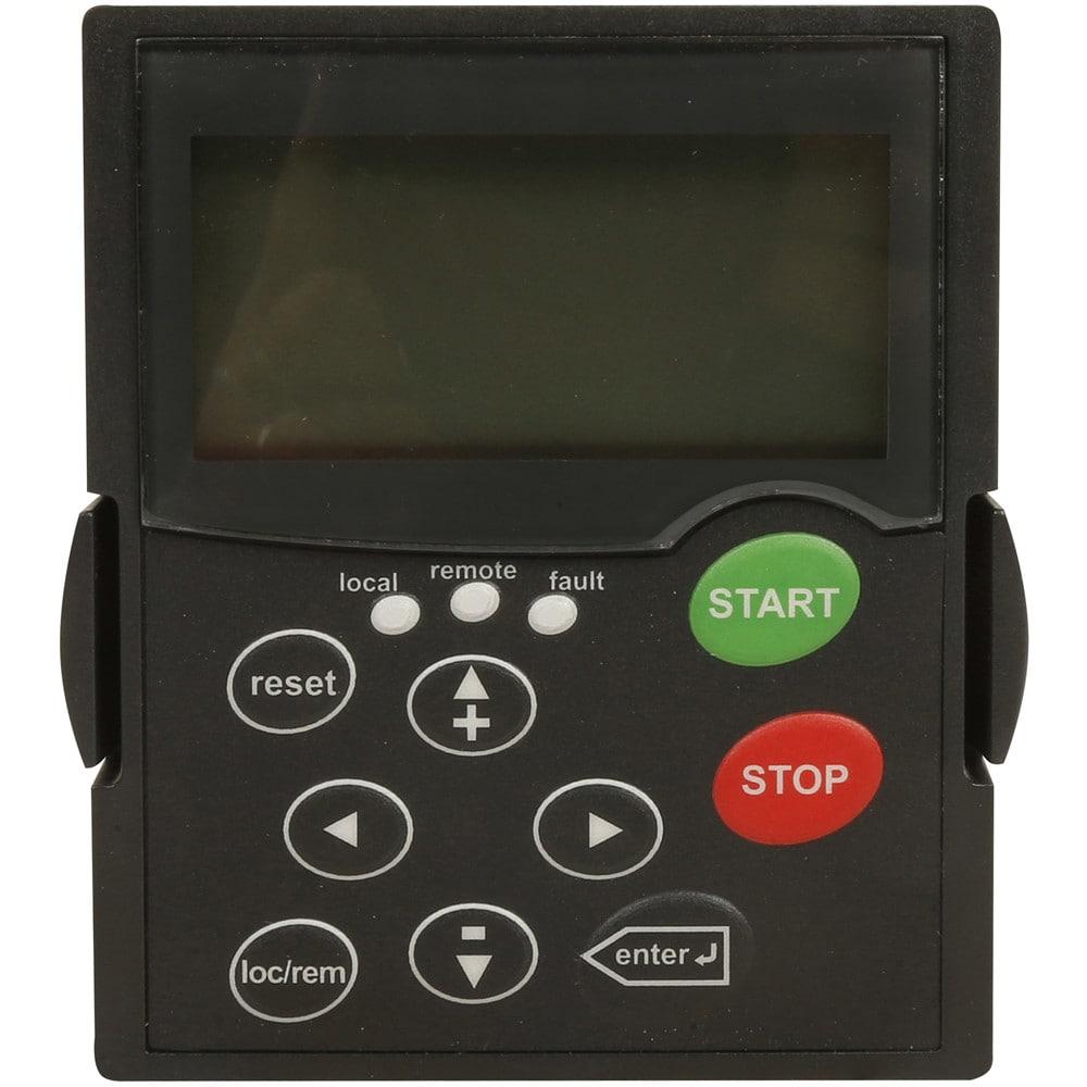 EATON KEYPAD-LOC//REM AC Drive Keypad,Remote,3 in D