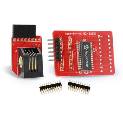 PIC16F1459 USB Development Tool Board PIC16F1455 Pickit3 Microchip Atmel