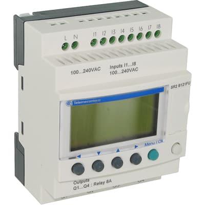 Input Voltage 100 240VAC New SCHNEIDER ELECTRIC SR2B121FU Logic Relay
