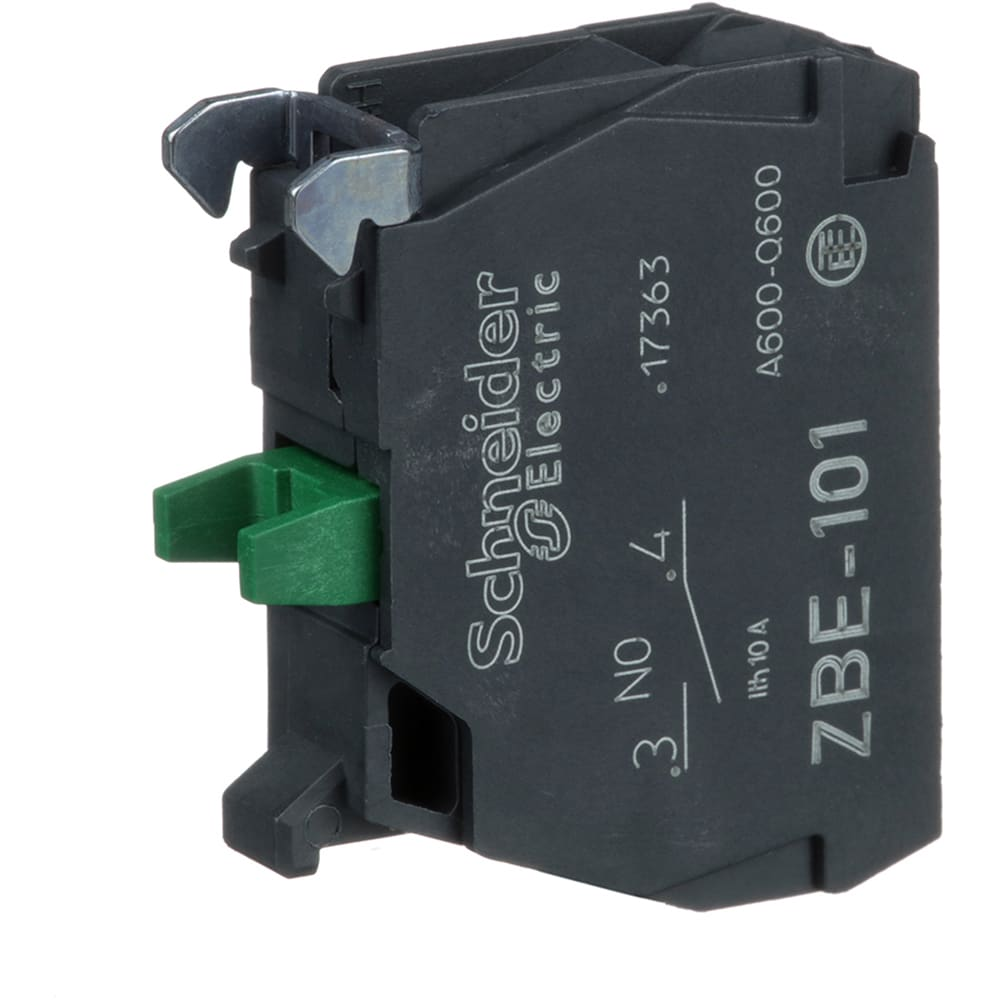 SCHNEIDER 1NO contact block for pushbuttons ZBE101 Pack of 5