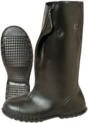 Black 86030MD33 ONGUARD Overboots,Mens,M,Button,Blk,PVC,PR