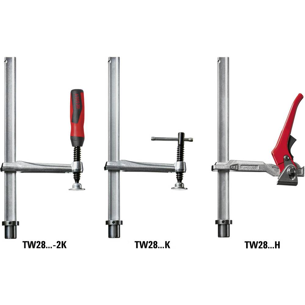 D BESSEY TW16-20-10-2K Table Clamp,Straight Handle,4 in