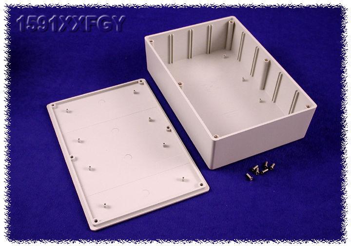 HAMMOND 1591XXFFLBK PLASTIC ENCLOSURE