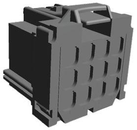 8-968972-2 MCP2.8 GEH ASSY 12P TE Connectivity