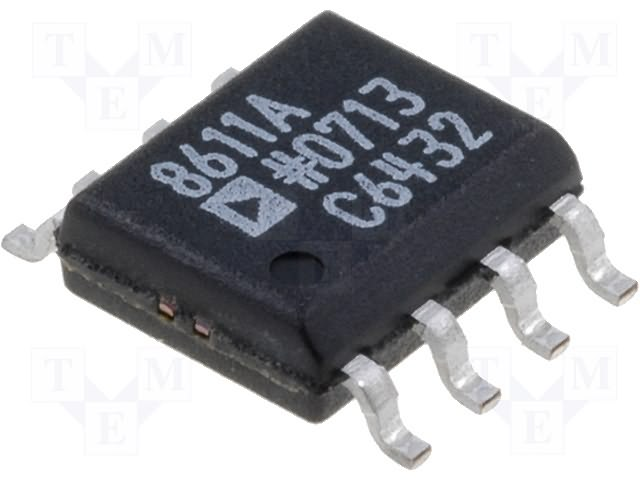 ANALOG DEVICES AD8611ARZ - Integrated circuit: comparator; fast; 4ns; 3=5VDC; SO8.