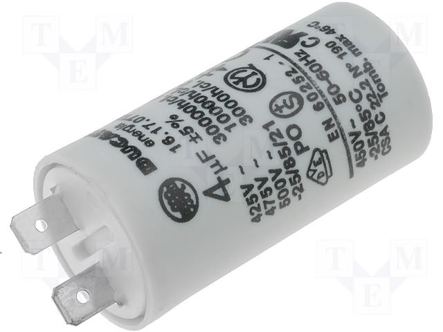 Ducati 4161707ta datasheet for Ducati energia motor run capacitor