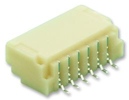10PCS X SM06B-SSR-H-TB SN LF 1mm pitch 6-pin JST Connector