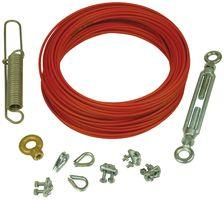 L TELEMECANIQUE SENSORS XY2CZ9325 Cable Kit,Plastic Coated Steel,84 ft