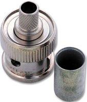 Amphenol RF 31-320-RFX Connector BNC Plug 0Hz To 4GHz 50 Ohm Crimp Straig 4 pcs