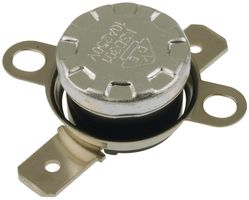 NTE Electronics NTE-DTO60 Snap Action Disc Thermostat Loose Bracket 1//4 QC Terminals Open on Rise 60/° F Temperature