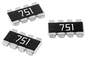 0603 4 PANASONIC EXB-38V220JV RESISTOR NETWORK 5 pieces 22OHM 5/% THICK FILM