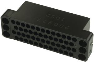 TE A-MP 200277-4 Connector Housing 50-Position M Series Female Receptacle Block