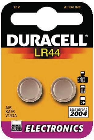 LR44 - Duracell - datasheet