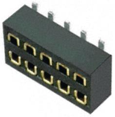 Harwin m50-3120545 socket Verticale 10way SMT 1,27 mm