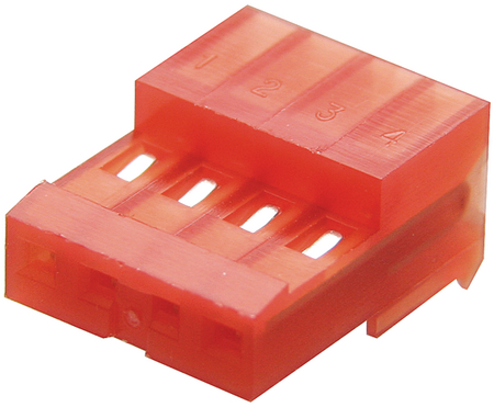 HOUSING TE CONNECTIVITY // AMP 22AWG 3-640440-6 6WAY Price For: 5
