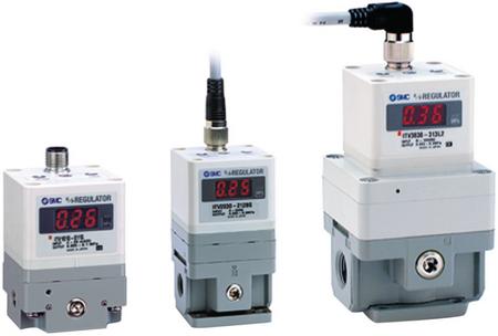 Itv2050-31f2bs3 | smc g 1/4 pneumatic regulator, 0. 005 → 0. 9mpa.