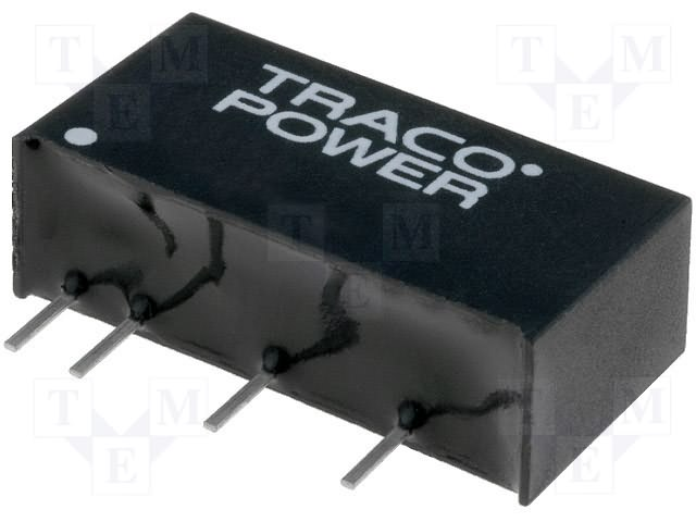 1W CONVERTER DC//DC 5V//0.2A TMA 0505S By TRACOPOWER