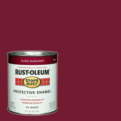 Flat Maroon Spray Paint