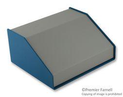 DESKTOP HAMMOND 1456FG4WHBU ENCLOSURE ALUMINIUM BEIGE//BLUE