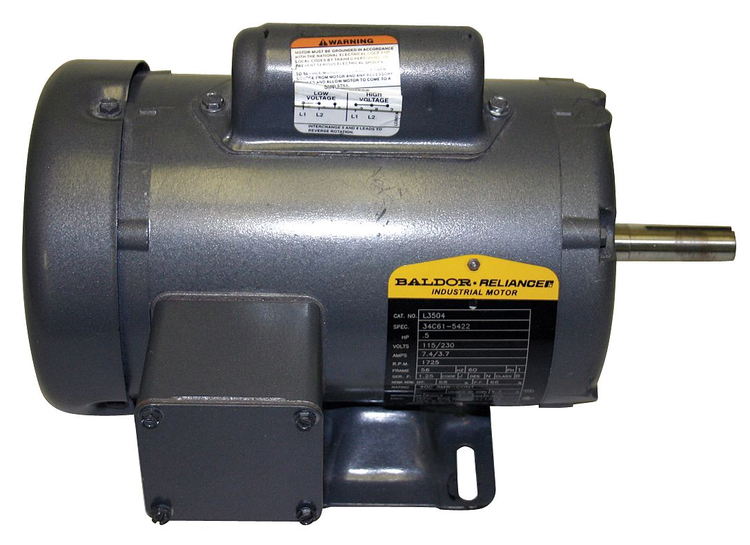 1725 RPM NEW BALDOR ELECTRIC MOTOR L3409  1//2 HP