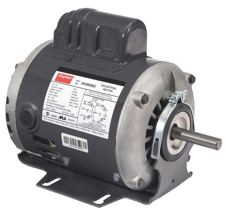 6k965 Dayton Electric Motor Cw Ccw Wiring Diagram