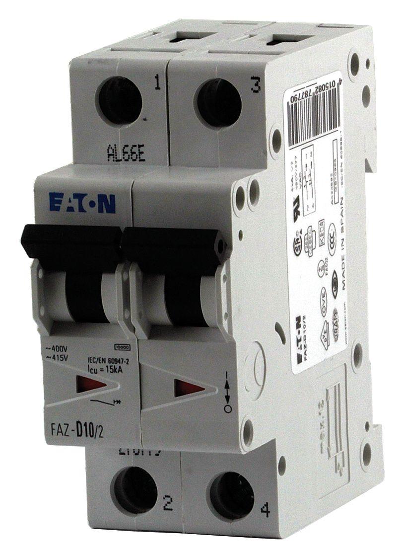Faz C3 2 Eaton Cutler Hammer Fazc32 Datasheet Miniature Circuit Breakers