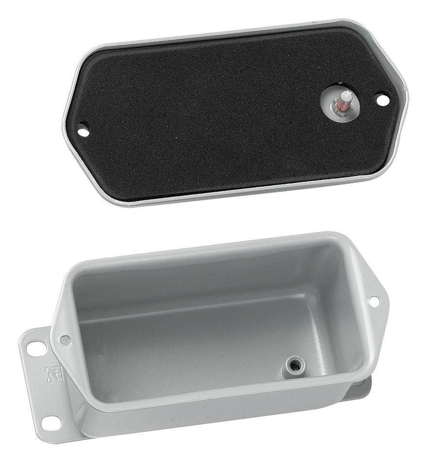 "4/"" x 2/"" x 2/"" Junction Box NEMA 12 Flat Screw Cover Hoffman A402DSC"