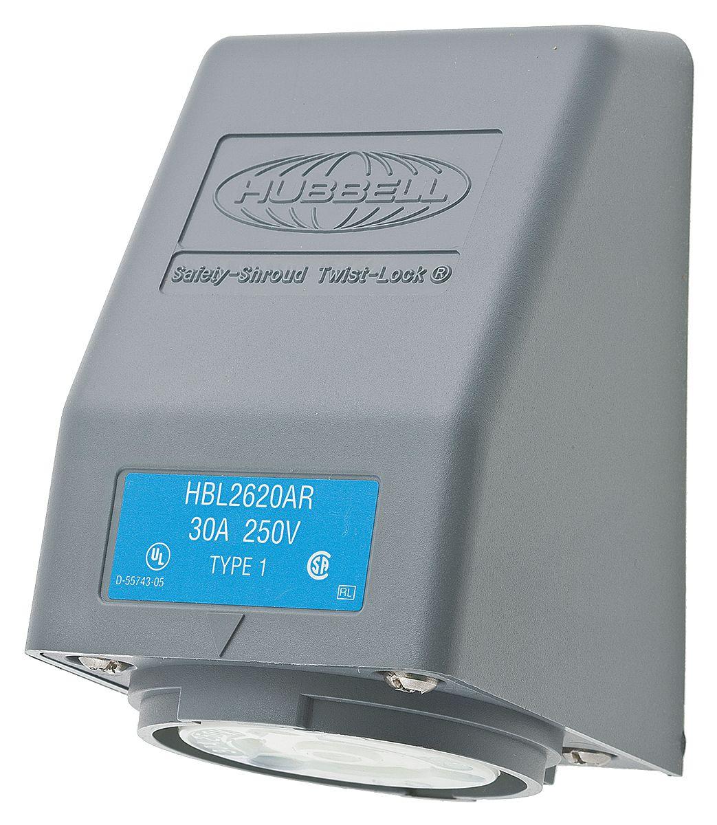 HBL2620AR - Hubbell Wiring Device-Kellems - datasheet