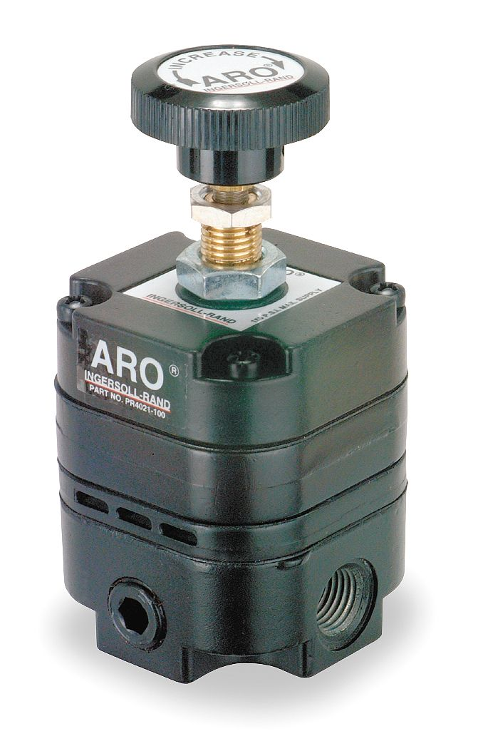 Aro pressure regulator 18ga narrow crown staples