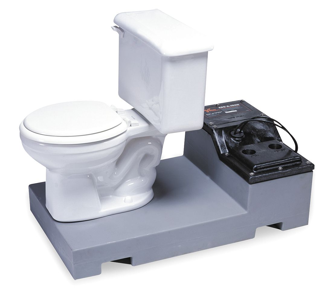 Toilet In Basement Pump