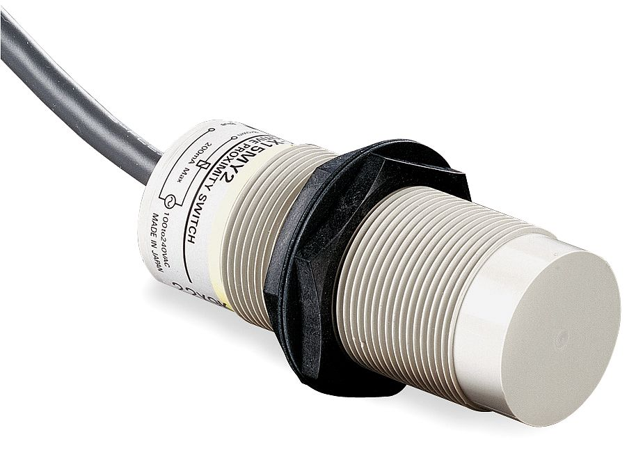 Omron Capacitive Proximity Sensor  NPN NC 4mm Detection Unshielded E2KX4ME2
