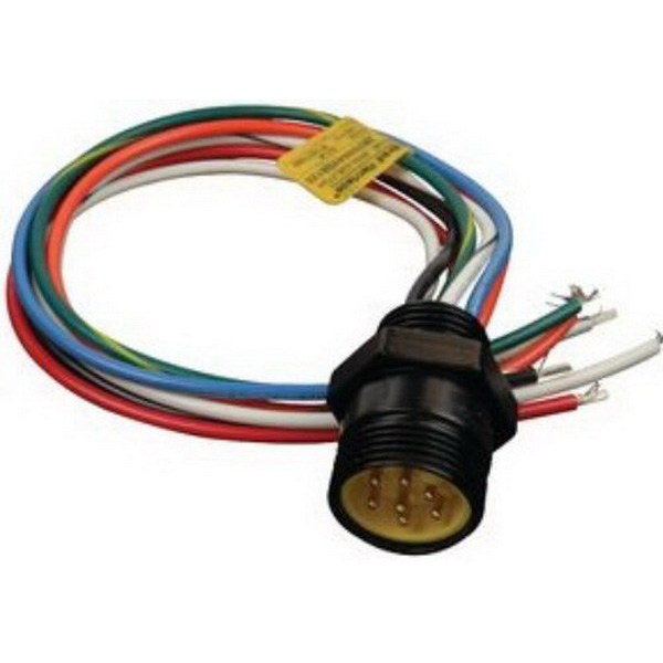 2R7006A20A120 Cable Assembly UL 1015 0.305m 16AWG Mini Change 7 POS M Mini-Change