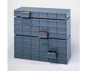 11-5//8 In DURHAM 014-95 Drawer Bin Cabinet Gray D