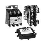 ABB  DP60C2P-1 DP60C2P1  Definite Purpose Contactor 60A 2P 120V COIL