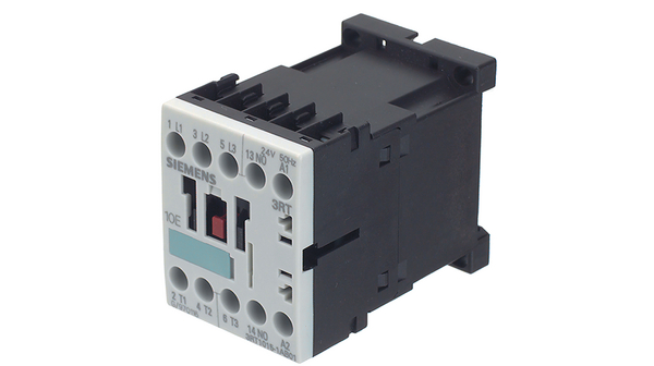 Contactor 4-pole 24VDC 6A NC x2 NO x2 DIN on panel 3RH10