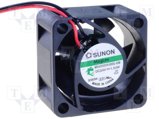 New Sunon MB40202VX-000U-A99 MB Series Axial Fan 40 x 40 x 20mm