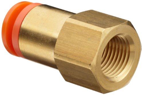 SMC KQ2F07-34A Female Adapter,1/4 in.,TubexFNPT Hydrauliek en pneumatiek