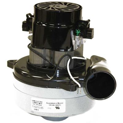 Tangential AMETEK LAMB 116210-85 Vacuum Motor//Blower 2 Stage Acustek 1 Speed