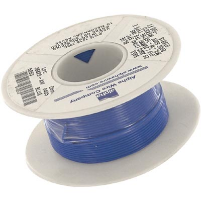 Alpha Wire 26 AWG Hook-Up Wire 5853 GR005
