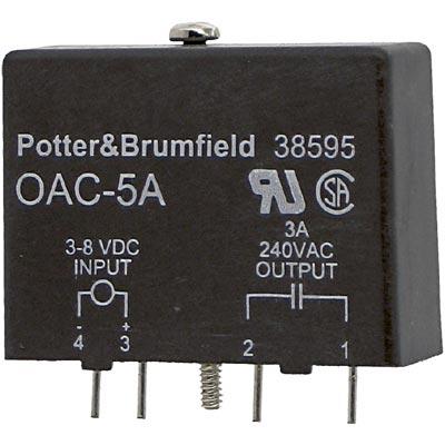 Tyco OAC-5A 38595 3-8v-dc 240v-ac 3a Amp Output Module