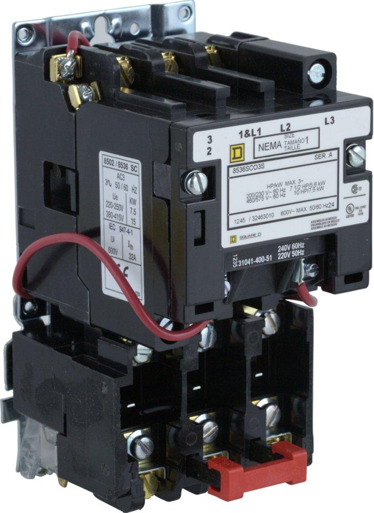8536sco1v03 square d Autotransformer Motor Starter Wiring Diagram