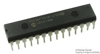 20MHZ MICROCHIP   PIC16LF1518-I//SP   MCU DIP-28 8BIT PIC16
